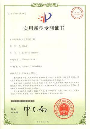 凯达恒业豆皮蒸汽烘干机专利