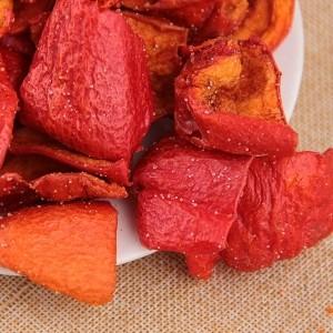 果蔬脆片 休闲食品 VF红椒 OEM代加工 —凯达恒业产品