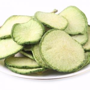 Green radish slices VF Green radish slices Green radish slices OEM