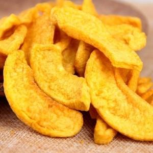 果蔬脆片 休闲食品 VF黄桃脆片 OEM代加工 —凯达恒业产品