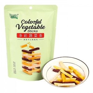 脆脆乐多彩蔬菜条60g4种薯类脆条鲜切儿童办公休闲零食混合装即食