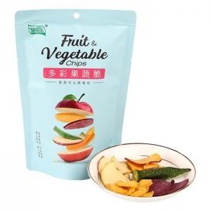 脆脆乐多彩果蔬脆50g5种蔬菜水果脆片儿童办公休闲零食混合装即食