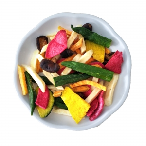 Mixed fruit and vegetable Crisps-VF Mixed fruit and vegetable Crisps-Fruit and Vegetable Mix