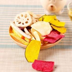 果蔬脆片 休闲食品 VF蔬菜脆混合什锦 OEM代加工 —凯达恒业产品