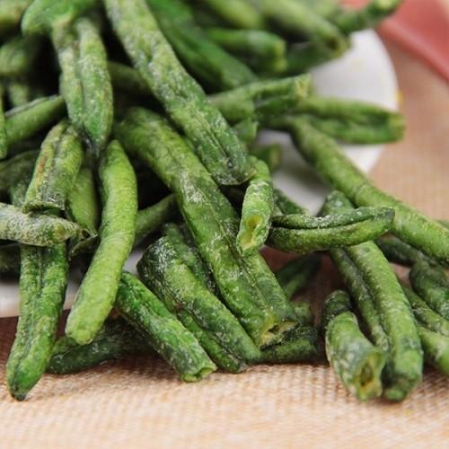 果蔬脆片 休闲食品 VF青刀豆 OEM加工 凯达恒业产品